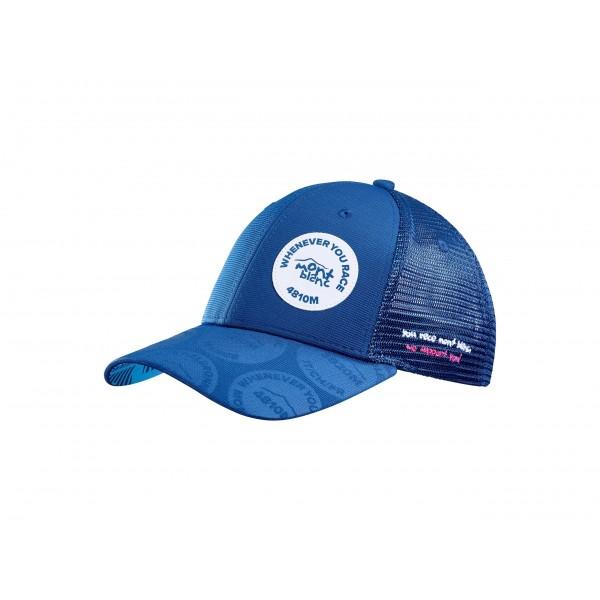 Кепка Compressport TRUCKER CAP Mont Blanc (синий), SS2020