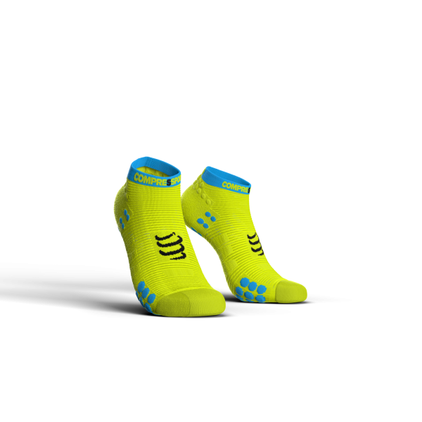 PRO RACING SOCKS V3.0 RUN LOW YELLOW