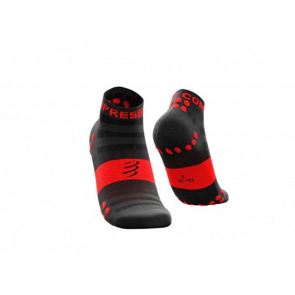 Носки Compressport PRO RUN LOW V3.0 ULTRALIGHT Черно/красные