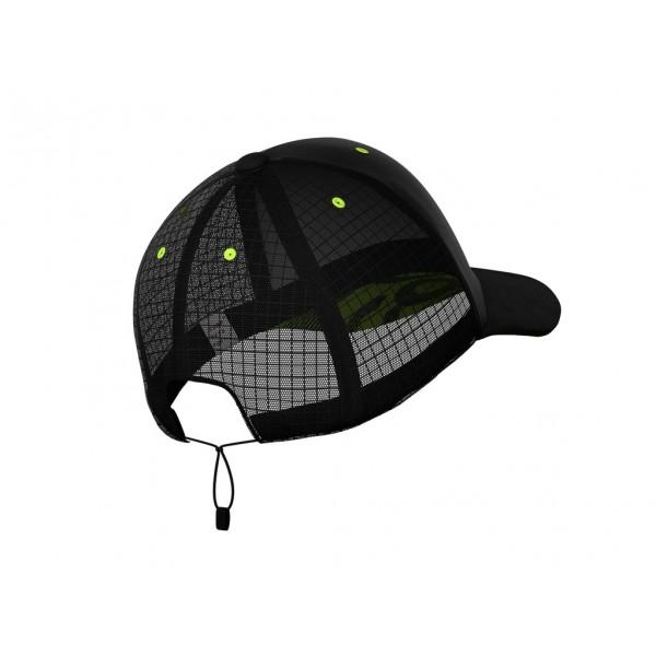 Кепка с сеткой Compressport TRUCKER RACING CAP Черная