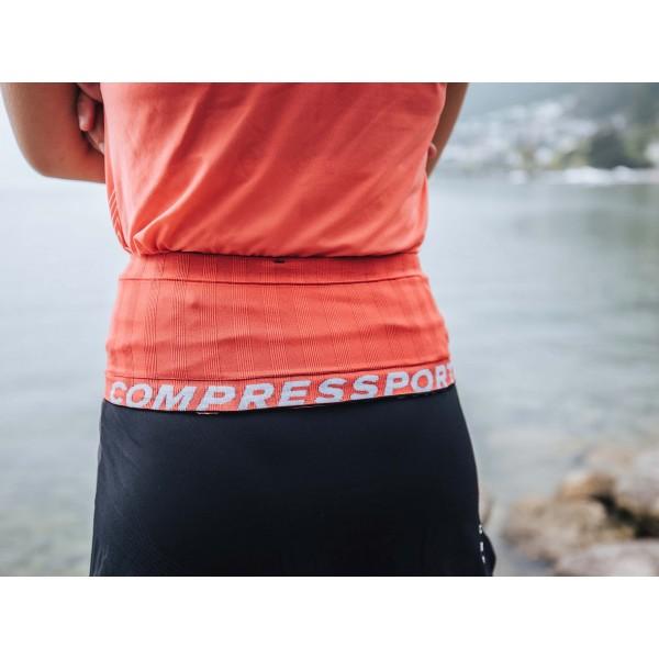 Пояс Compressport FREE BELT Черный/корал