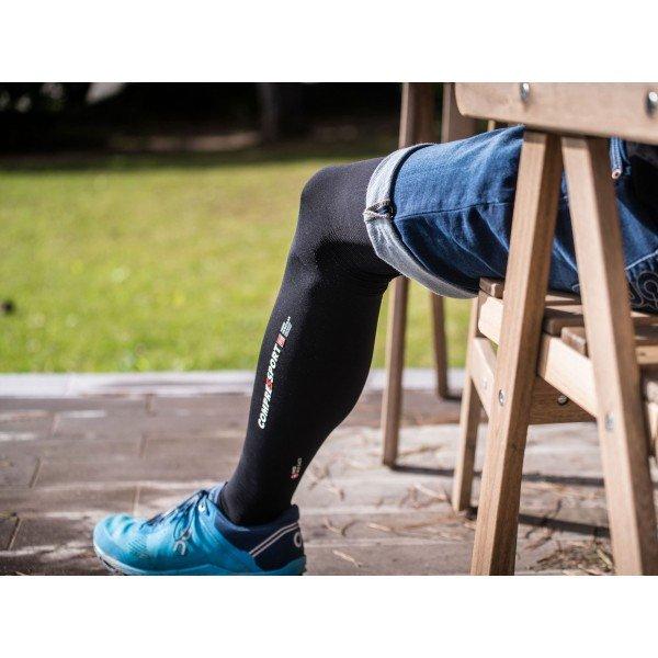 Чулки Compressport TOTAL FULL LEG Черные
