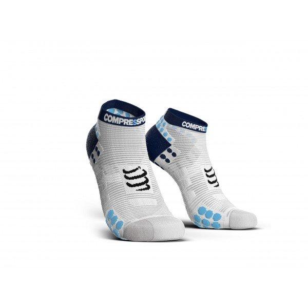 Носки Compressport PRO RUN LOW V3.0 Бело/синие