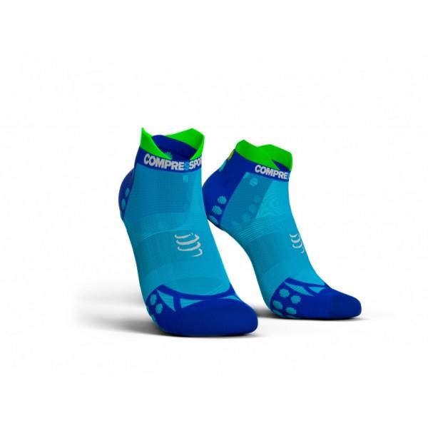 Носки Compressport PRO RUN LOW V3.0 ULTRALIGHT Синие