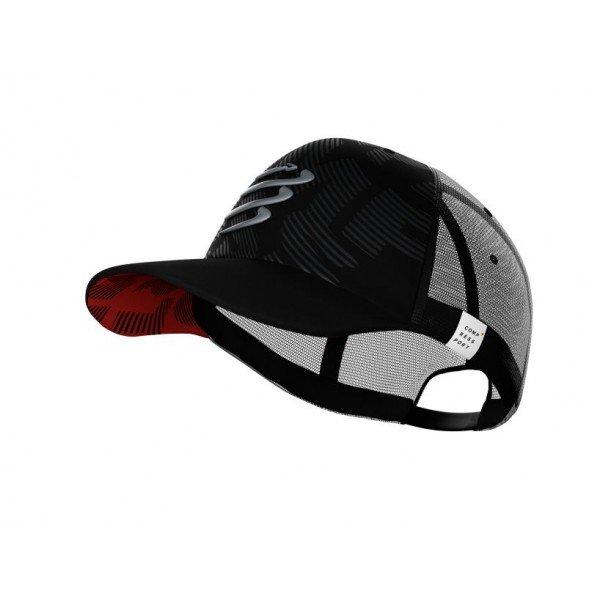 Кепка Compressport TRUCKER CAP Flash Черная