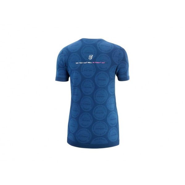 TRAINING TSHIRT SS Woman Badges Mont Blanc 2020