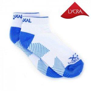 Носки Karakal X2+ Ladies Trainer Socks 36-37 Белые/голубые
