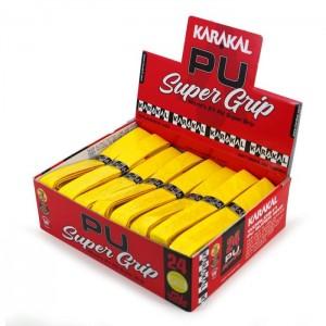 Намотка на ракетку Karakal PU Super Grip Желтая 1 шт