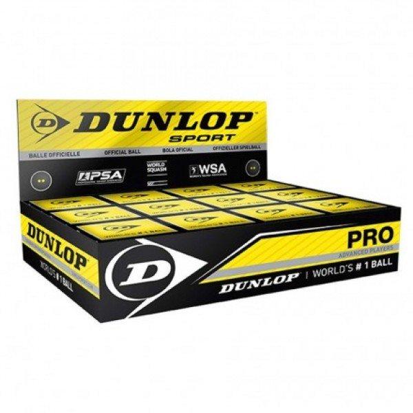 Мячи Dunlop Pro для тренировок и соревнований
