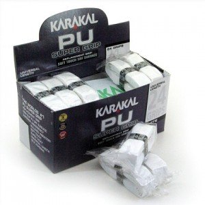 Намотка на ракетку Karakal PU Super Grip Белая 1 шт