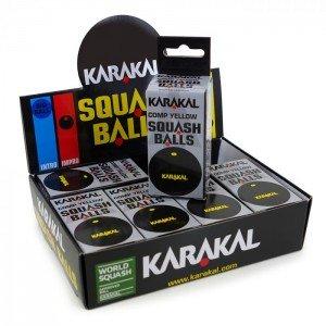 Мяч Karakal Yellow Dot для любителей игры в сквош