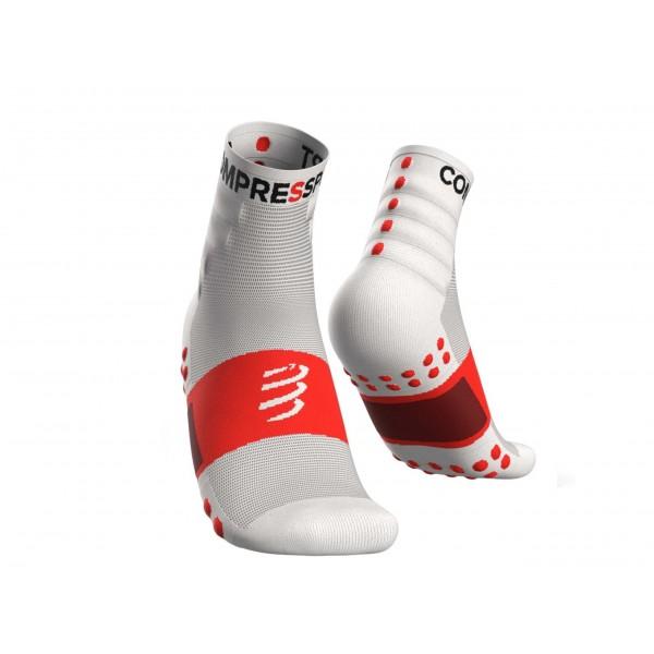 Носки Compressport Training Socks 2 пары Белые