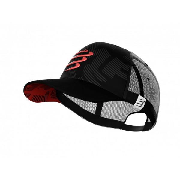 Кепка Compressport TRUCKER CAP Черная