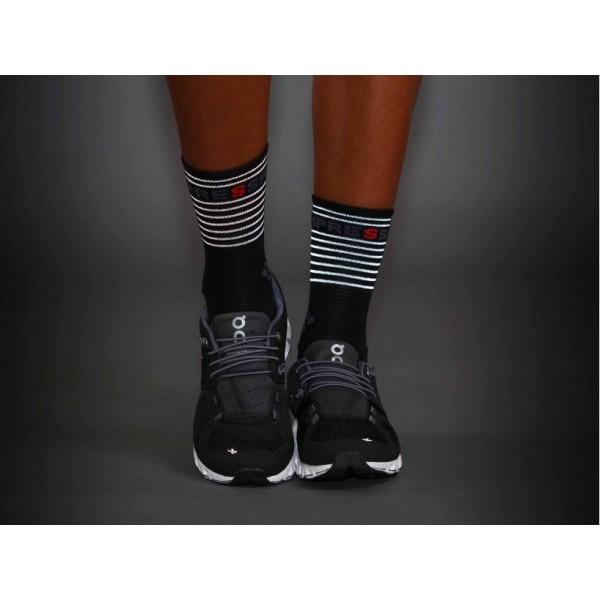 Носки Compressport Pro Racing Socks Flash Черные