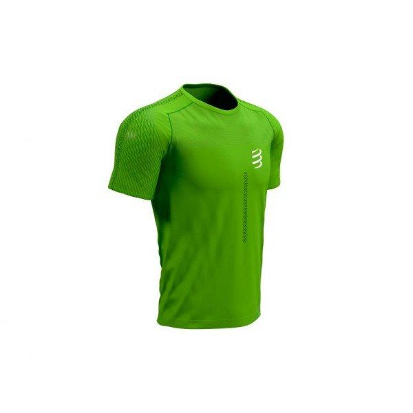 Футболка Compressport PERFORMANCE SS TSHIRT SUMMER REFRESH 2021 Зеленая