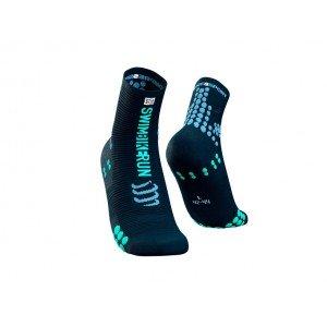 Носки Compressport PRO RACING SOCKS V3.0 RUN HIGH SBR 2021 Черные