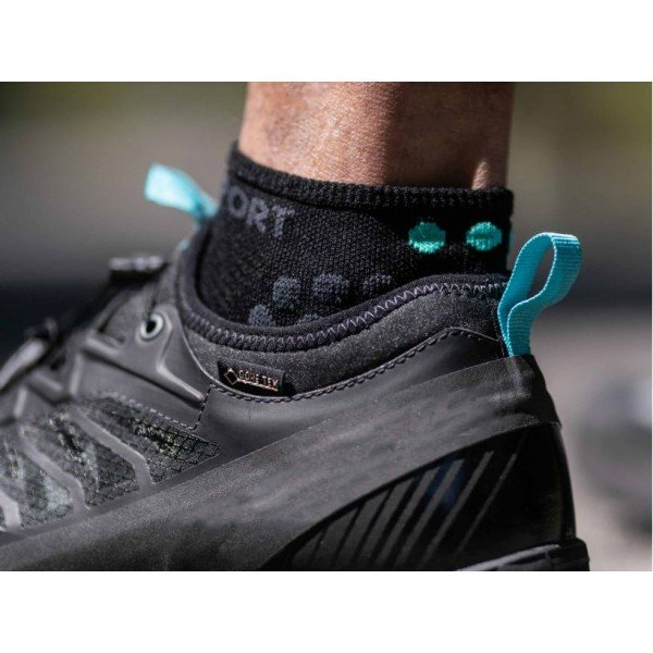 Носки Compressport PRO RACING SOCKS V3.0 RUN LOW BE 2021 Черные