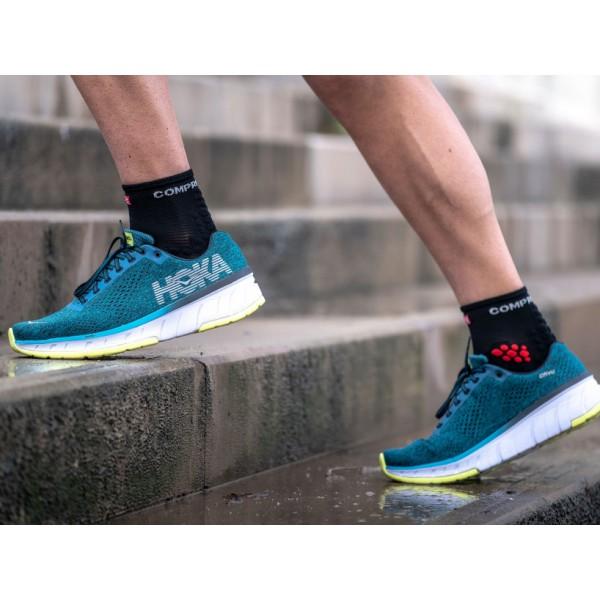 Носки Compressport Pro Racing Socks V3 Run High smart Черные