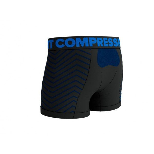 Белье Compressport SEAMLESS BOXER Черное