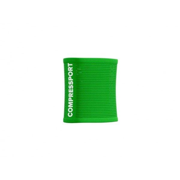 Напульсник Compressport SWEATBANDS 3D.DOTS SUMMER REFRESH 2021 Зеленый