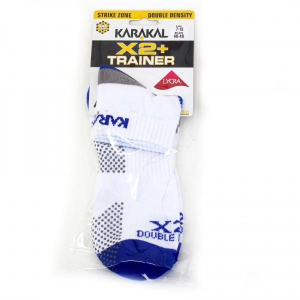 Носки Karakal Mens X2+Trainer Sock