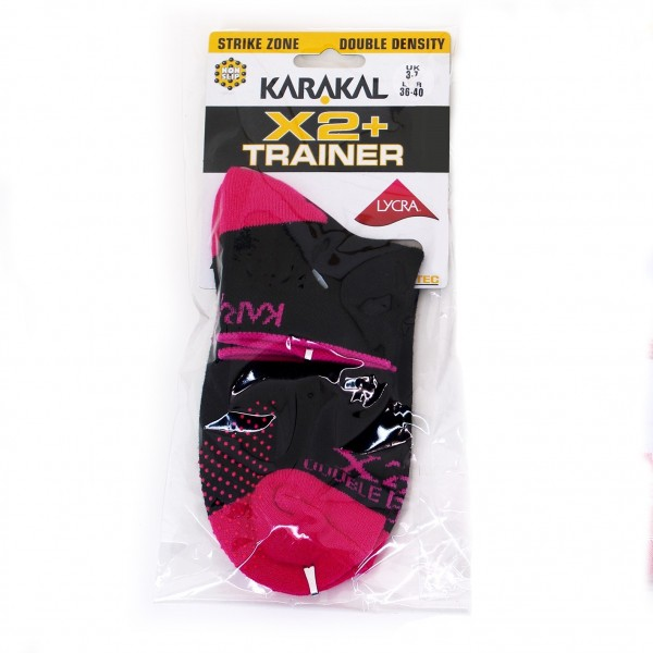 Носки Karakal X2+ Ladies Trainer Socks
