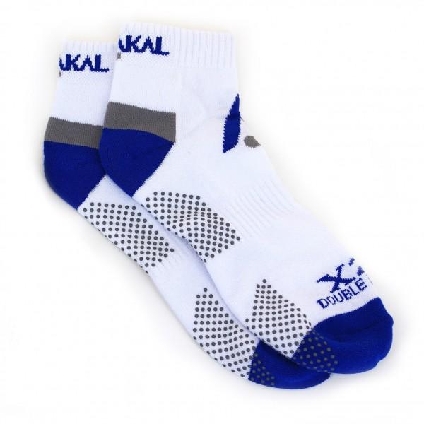 Носки Karakal Mens X2+Trainer Sock 40-48 Белые/синие