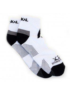Носки Karakal Mens X2+Trainer Sock 40-48 Белые/черные