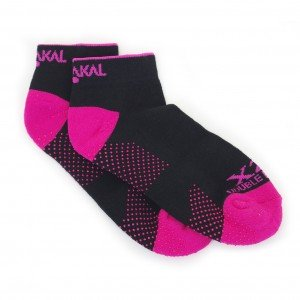Носки Karakal X2+ Ladies Trainer Socks 36-37 Черные/розовые
